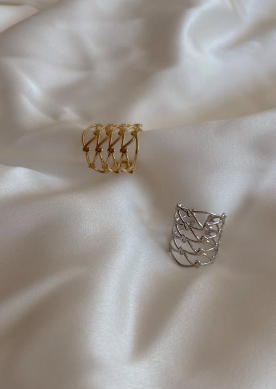 Silvery Blair ring