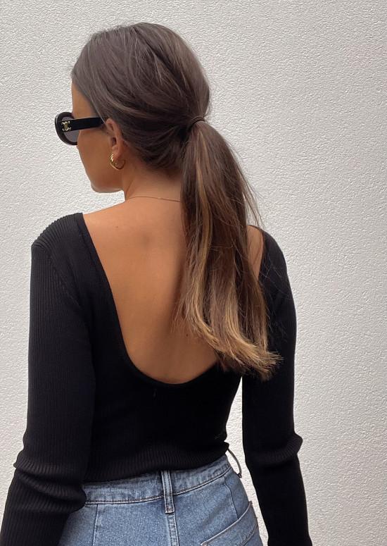 Black Jolene bodysuit