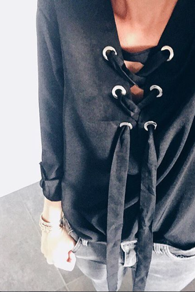 Blouse Preston noire