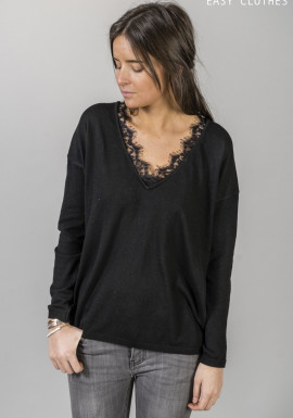 Black Pullover Aby