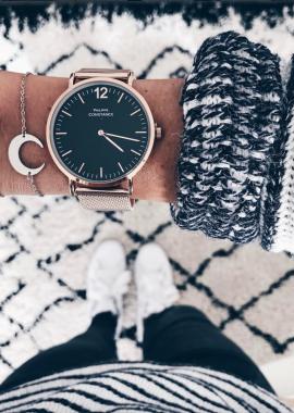 Pink gold - Black Watch Harris