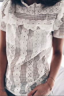 Blouse Caly blanche