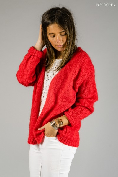 Gilet Easy Clothes rouge