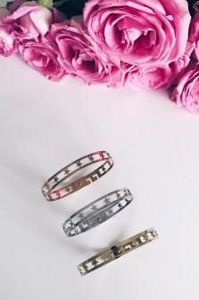 Bracelet 5 etoiles rosé