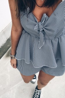 Gingham Playsuit Cady