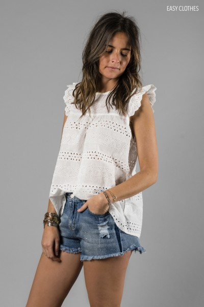 Blouse Lise Blanche