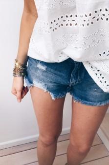 Short Betty en jeans