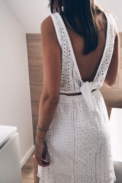 Robe Nora blanc