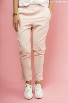Pantalon Pince rose clair