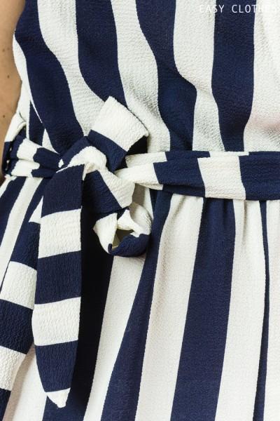 Combiniason Rory bleu marine et blanc
