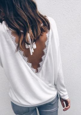 White Pullover Kim