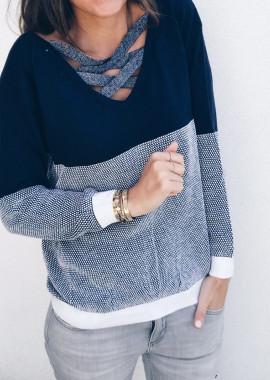 Navy blue Pullover Jango
